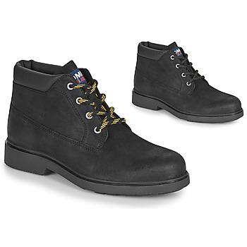 Boty Muži Kotníkové boty Tommy Jeans LOW CUT TOMMY JEANS BOOT Černá