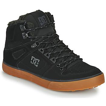 Boty Muži Kotníkové tenisky DC Shoes PURE HT WC WNT M Černá