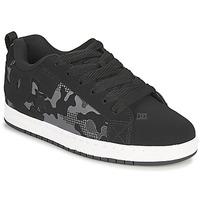 Boty Muži Skejťácké boty DC Shoes COURT GRAFFIK Černá