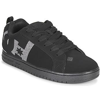 Boty Muži Skejťácké boty DC Shoes COURT GRAFFIK Černá / Šedá
