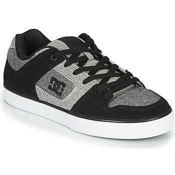 Boty Muži Nízké tenisky DC Shoes PURE Černá / Šedá