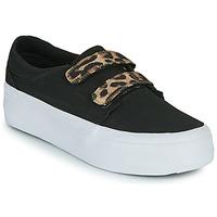 Boty Ženy Kotníkové tenisky DC Shoes TRASE PLATEFORM V Černá