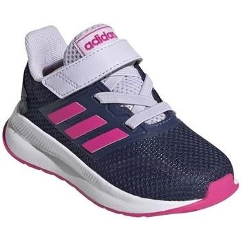 Boty Děti Běžecké / Krosové boty adidas Originals Runfalcon I Bílé,Tmavomodré