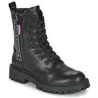 Boty Děti Kotníkové boty Tommy Hilfiger T3A5-30851 Černá