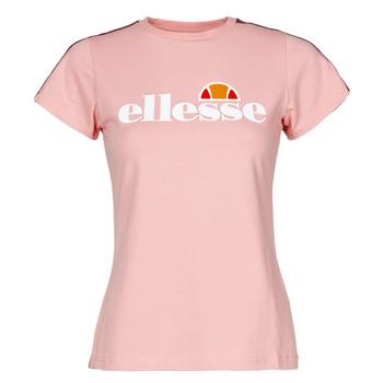 Textil Ženy Trička s krátkým rukávem Ellesse MALIS Růžová