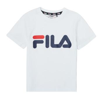 Textil Děti Trička s krátkým rukávem Fila LEA Bílá