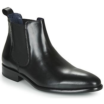 Boty Muži Kotníkové boty Brett & Sons SUZONU Černá