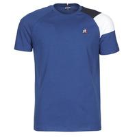 Textil Muži Trička s krátkým rukávem Le Coq Sportif ESS TEE SS N°10 M Modrá