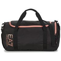 Taška Ženy Sportovní tašky Emporio Armani EA7 TRAIN CORE U GYM BAG SMALL Černá / Růžová