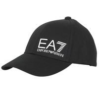 Textilní doplňky Muži Kšiltovky Emporio Armani EA7 TRAIN CORE ID M LOGO CAP Černá