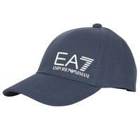 Textilní doplňky Muži Kšiltovky Emporio Armani EA7 TRAIN CORE ID M LOGO CAP Tmavě modrá