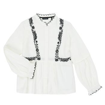 Textil Dívčí Košile / Halenky Ikks XR12022 Bílá