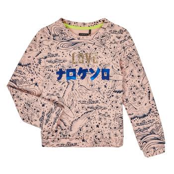 Textil Dívčí Mikiny Ikks XR15022 Růžová