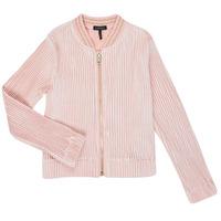 Textil Dívčí Svetry / Svetry se zapínáním Ikks XR17022 Růžová