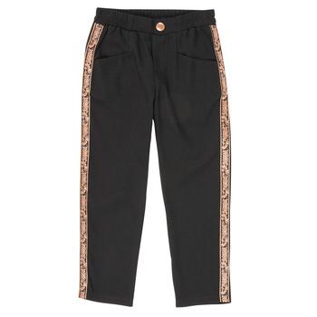 Textil Dívčí Kapsáčové kalhoty Ikks XR22012 Černá