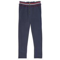 Textil Dívčí Kapsáčové kalhoty Ikks XR23002 Modrá