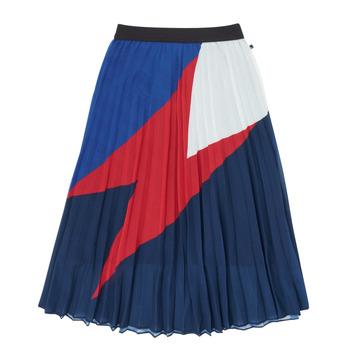 Textil Dívčí Sukně Ikks XR27052 Modrá