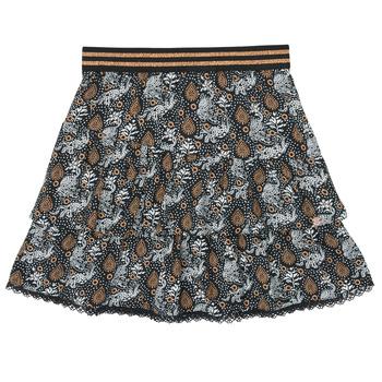 Textil Dívčí Sukně Ikks XR27082 Černá