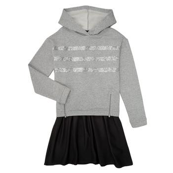 Textil Dívčí Krátké šaty Ikks XR30112 Šedá