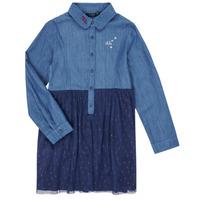 Textil Dívčí Krátké šaty Ikks XR30122 Modrá