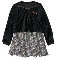 Textil Dívčí Krátké šaty Ikks XR30162 Černá
