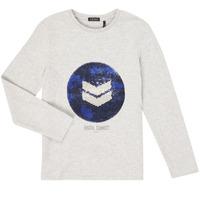 Textil Chlapecké Trička s dlouhými rukávy Ikks XR10273 Šedá