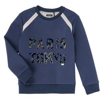 Textil Chlapecké Mikiny Ikks XR15093 Modrá