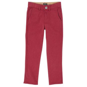 Textil Chlapecké Kapsáčové kalhoty Ikks XR22093 Červená