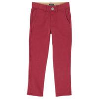 Textil Chlapecké Kapsáčové kalhoty Ikks XR22093J Červená
