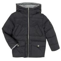 Textil Chlapecké Prošívané bundy Ikks XR41053 Černá