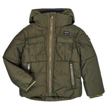 Textil Chlapecké Prošívané bundy Ikks XR41123 Hnědá