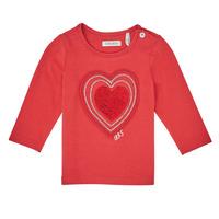 Textil Dívčí Trička s dlouhými rukávy Ikks XR10010 Oranžová