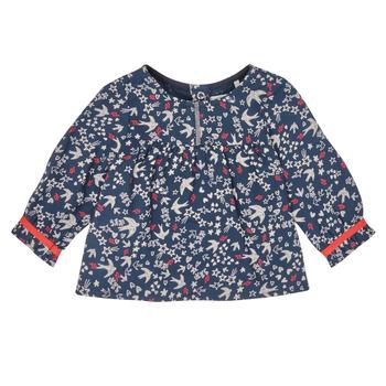Textil Dívčí Košile / Halenky Ikks XR12010 Modrá