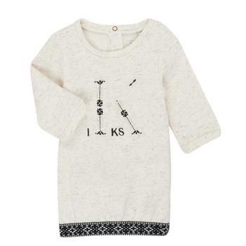 Textil Dívčí Krátké šaty Ikks XR30180 Béžová
