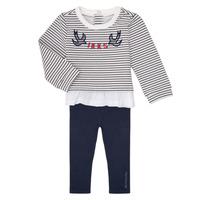 Textil Dívčí Set Ikks XR36030 Tmavě modrá / Bílá