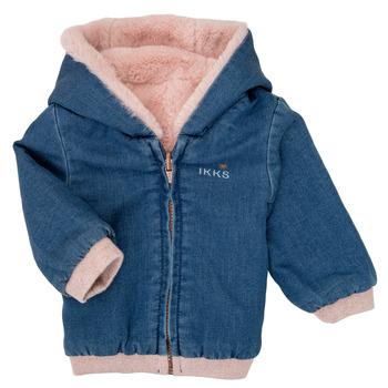 Textil Dívčí Bundy Ikks XR40020 Modrá
