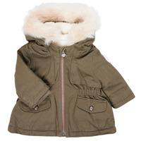 Textil Dívčí Parky Ikks XR42020 Khaki