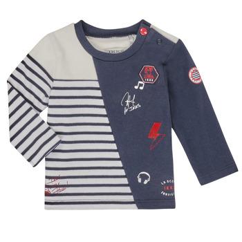 Textil Chlapecké Trička s dlouhými rukávy Ikks XR10041 Bílá