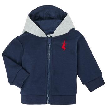 Textil Chlapecké Svetry / Svetry se zapínáním Ikks XR17001 Modrá