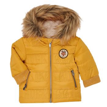 Textil Chlapecké Prošívané bundy Ikks XR41021 Žlutá