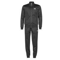 Textil Muži Teplákové soupravy Emporio Armani EA7 TRAIN CORE ID M T-SUIT TT FZ CH PL Černá