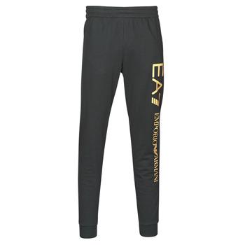 Textil Muži Teplákové kalhoty Emporio Armani EA7 TRAIN LOGO SERIES M PANTS Černá