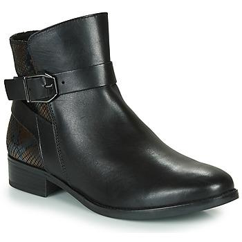 Boty Ženy Kotníkové boty Caprice 25331-045 Černá