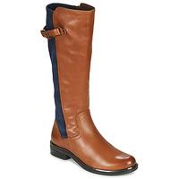 Boty Ženy Kozačky Caprice 25504-387 Zlatohnědá / Modrá