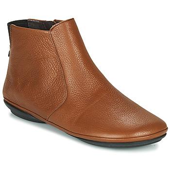 Boty Ženy Kotníkové boty Camper RIGHT NINA Hnědá