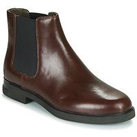 Boty Ženy Kotníkové boty Camper IMN0 Hnědá