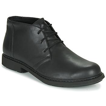 Boty Muži Kotníkové boty Camper MILX Černá