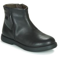 Boty Dívčí Kotníkové boty Camper DTT1 Černá
