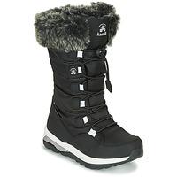 Boty Dívčí Zimní boty KAMIK PRAIRIE Černá