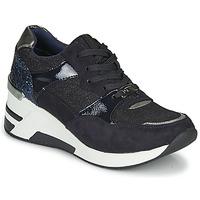 Boty Ženy Nízké tenisky Tom Tailor 92610-BLEU Modrá